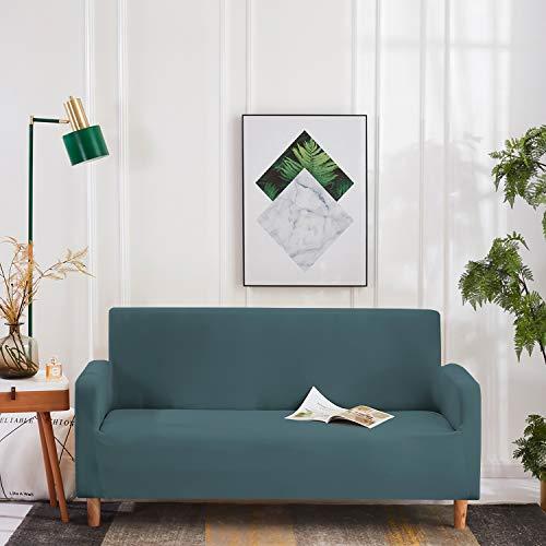 WedDecor Schlicht und Bedruckte Polyester Spandex Sofa Abdeckungen - Türkis, Sofa
