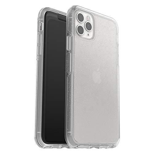 Otterbox Symmetry, funda anticaídas, fina y elegante para Apple iPhone 11 Pro Max, Transparente/Purpurina