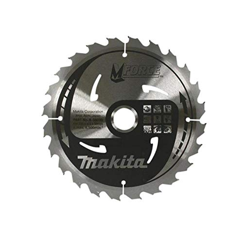 Makita b-07967190x 30mm Force Kreissägeblatt natürlich Schnitt für Holz mit 12Zahn–Rot/Silber - 2