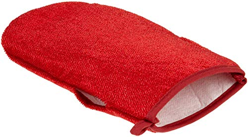 Trixie 2328 Fussel-Handschuh, beidseitig, rot