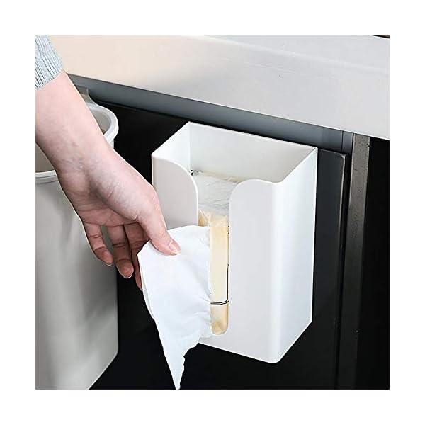 Decdeal Dispensador de Toallas de Papel sin Perforación Montado en la