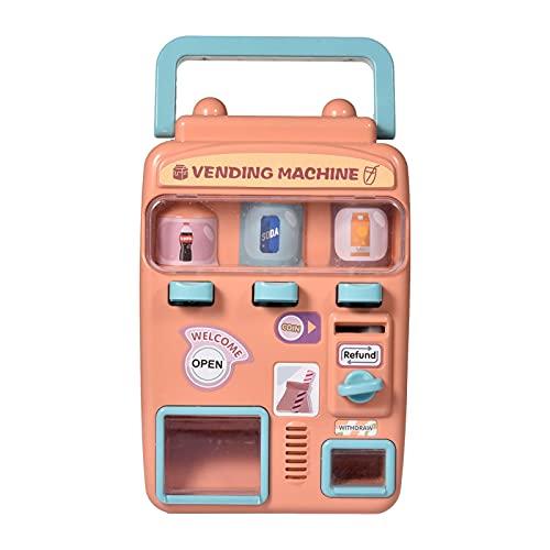 Facynde Máquina Expendedora De Juguetes, Máquina Expendedora De Estilo Retro Juguetes Educativos De Aprendizaje para Fiestas Regalo Ideal para El Día De Los Niños para Niños De 3 Años En Adela