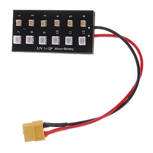 sharprepublic 1S Lipo Balance Board Micro JST 1.25 Und JST PH XT60 Stecker Parallel