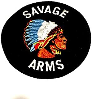 SAVAGE ARMS Round Embroidered Logo Patch 3
