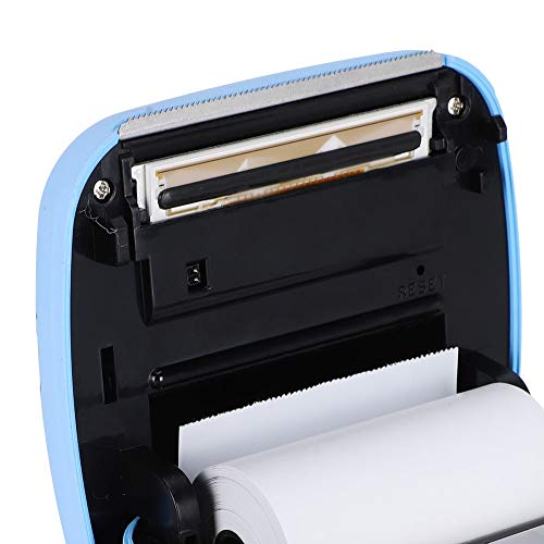 Sin Impresora de Tinta Bluetooth para extracción de Texto(Blue, Pisa Leaning Tower Type)