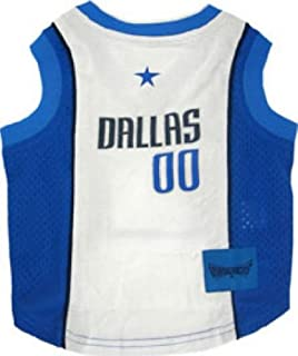 Dallas Mavericks Dog Jersey Small