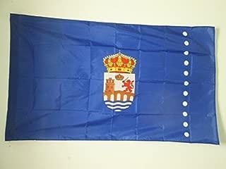 AZ FLAG Bandera de la Provincia DE ORENSE 90x60cm para Palo - Bandera ORENSE ENGalicia 60 x 90 cm