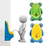 Urinario de bebe R Cafe Urinario Vertical del soporte de ninos de rana con estilo Ranura de orina montado en pared TOOGOO