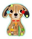 Iwood- Laberinto Magnético de Madera Diseño Animal Perro, Multicolor (12002) , color/modelo surtido