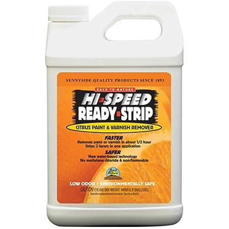 Sunnyside Corporation 65664 Hi-Speed Ready-Strip Citrus Paint & Varnish Remover Quart Trigger Spray, 1/2 Gallon