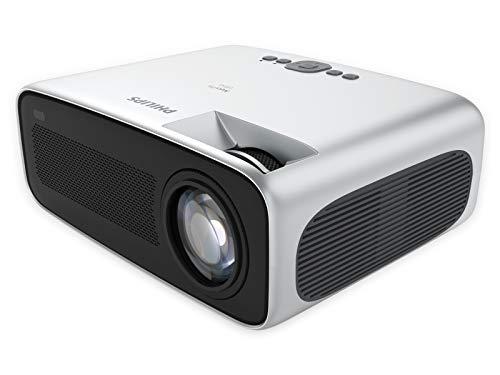 Philips NeoPix Ultra, Projektor, 4.200 LED-Lumen, 120″ Bildgröße, Bildschirmspiegelung via Wi-Fi, Bluetooth, integrierter Media-Player, HDMI, USB, microSD, 3,5-mm-Audioausgang
