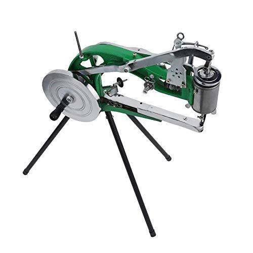 TOPQSC Máquina de Reparación de Calzado Máquina de Coser Manual DIY Máquina Manual de Reparación de Zapatos Adecuada Para Coser Zapatos de Diferentes Materiales con Hilo de Nailon o Algodón