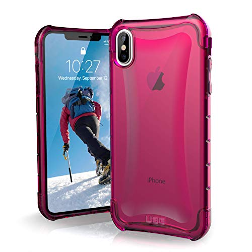 URBAN ARMOR GEAR 111102119595 Plyo Feather-Light Rugged Military Drop Tested Phone Case for iPhone Xs Max - Pink