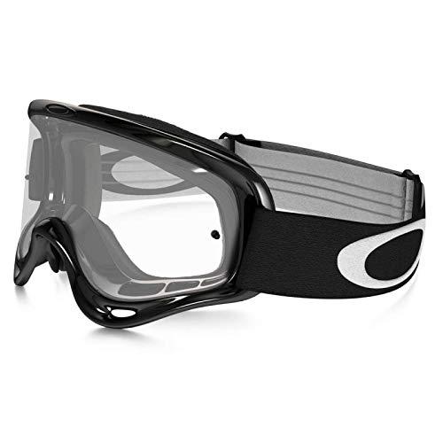OAKLEY - Masque Moto Cross Vtt O Frame Jet Black écran transparent [80400007]