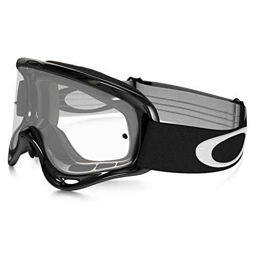 OAKLEY - Masque Moto Cross Vtt O Frame Jet Black écran transparent [80400007]