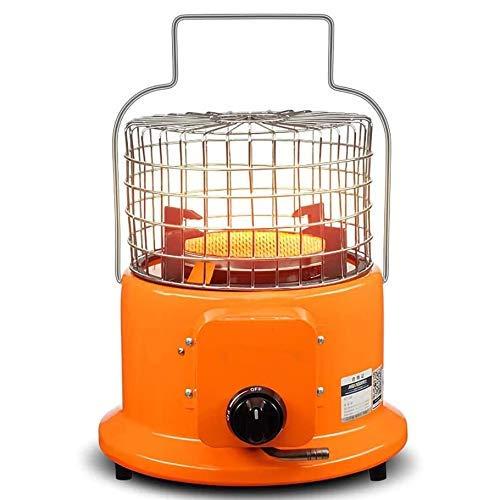 DSDD Calentador de Mesa para Patio, fogatas de Gas portátiles con regulador de Gas propano, Manguera de 1,5 m, 2 Clips de Acero Inoxidable, Placa calefactora de cerámica de Panal para Acampar