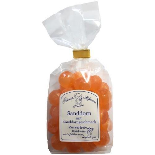Zuckerfreie Sanddorn Bonbons, 120g