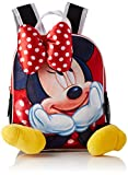 Cerdá Life's Little Moments Aplicaciones de Color Rojo Mochila Infantil Minnie Mouse-Licencia...