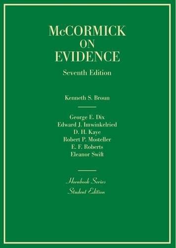 Evidence (Hornbooks)