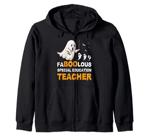 FaBooLous Fabuloso disfraz de educacin especial para profesores Sudadera con Capucha