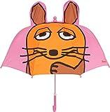 Playshoes 3D Regenschirm Die Maus Capo d'Abbigliamento, Rosa, Original Mädchen