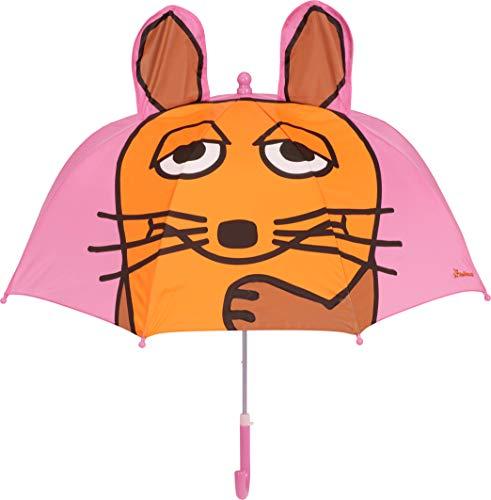 Playshoes 3D Regenschirm Die Maus Kleidung, Rosa, Original Mädchen