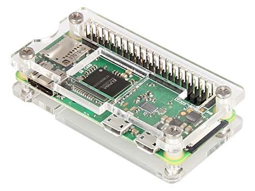 Joy-it Makercase RP-Zero SBC-Gehäuse Passend für: Raspberry Pi Acrylglas klar