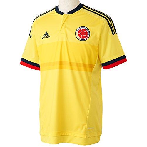 adidas Fcf H JSY Maglietta Prima Divisa Federazione Colombiana de Calcio per Uomo, Giallo (Amabri/Maruni), S