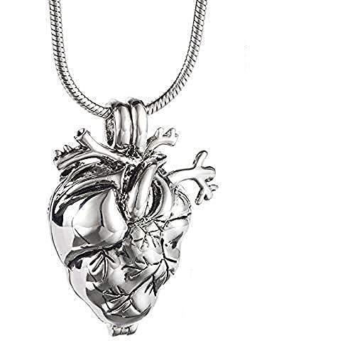 YNNANGG Collar De Urnacolgante De Urna De Mascota Conmemorativa para Seres Queridos