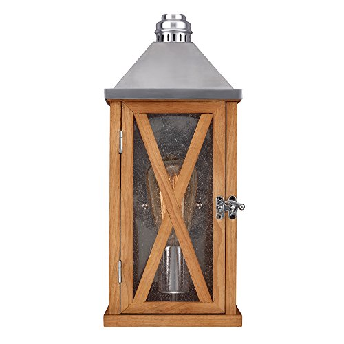 Applique Lumiere 1x100W - Chêne - Boutica-Design - felumieres2oak