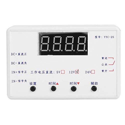 LiebeWH Timer Relay, LED-Anzeige Einstellbares Timer Relay Automation Steuerschaltermodul für Magnetventil, Wasserpumpe, Motor, Lichtriemen(12V)