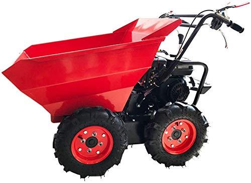 Capacidad de carga de 300 kg dumper dumper pequeño desplazamiento motor de gasolina es 196cc...