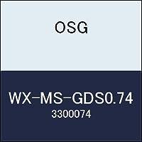 OSG 超硬ドリル WX-MS-GDS0.74 商品番号 3300074
