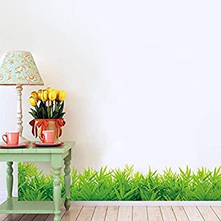 DIY Removable Wall Stickers For Living Room Home Decor - The green grass