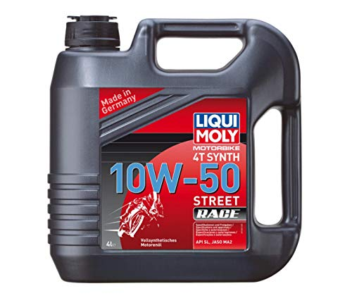 HUILE 4 TEMPS 4 LITRES SYNTHESE 15W50 STREET RACE LIQUI MOLY-1686
