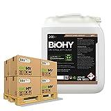 BiOHY Descalcificador universal (24 x Bote de 20 litros) | Concentrado para 20 procesos de descalcificación| Compatible con cafeteras, como DELONGHI, PHILIPS (Universal Entkalker)