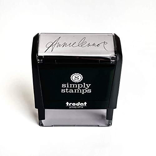 Custom Signature Stamp - Self Inking Personalized Signature Stamp