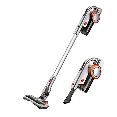 PUPPYOO A9 Cordless Vacuum Cleaner, 17Kpa Power Suction Pro...