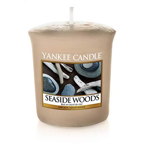 YANKEE CANDLE Kerze Seaside Woods Votive, Beżowy