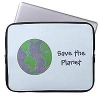Recaso(レカソ)青い環境 保存惑星 地球 ラップトップスリーブ 13.3インチ PCインナーバッグ 防水 マックブックケース ラップトップ ノートパソコン