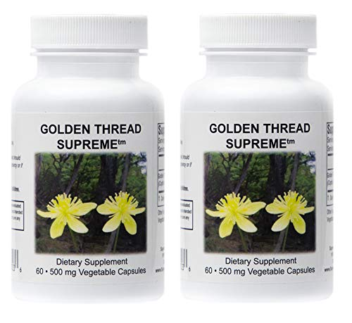 Supreme Nutrition Golden Thread Supreme Coptis Chinensis Dual Pack
