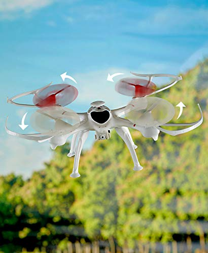 Ltd Commodities LLC R/C Drone with Camera and 6-Channel Remote - Includes SD Card for Image Retrieval