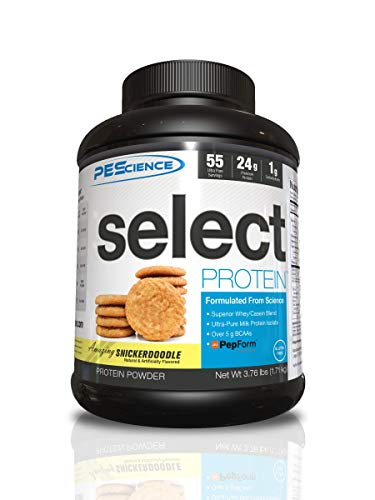 PEScience 181 g Snicker Doodle Select Protein Supplement - 55 Servings