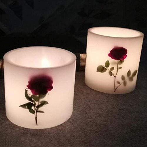 AMITD 2 stuks cilindervormige holle kaarsen maken vormen gereedschap DIY geurkaars Craft bruiloftsfeest kaarsen