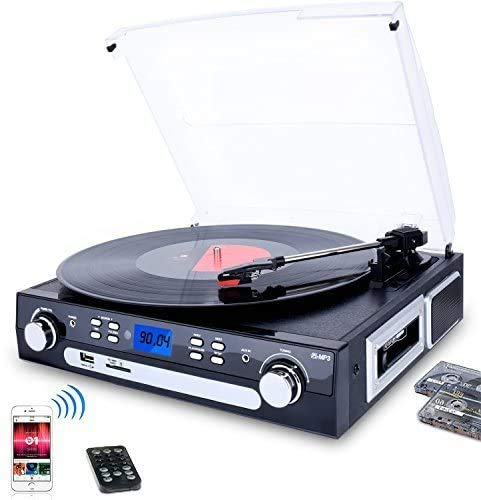 DIGITNOW Record Player Turntable bluetooth