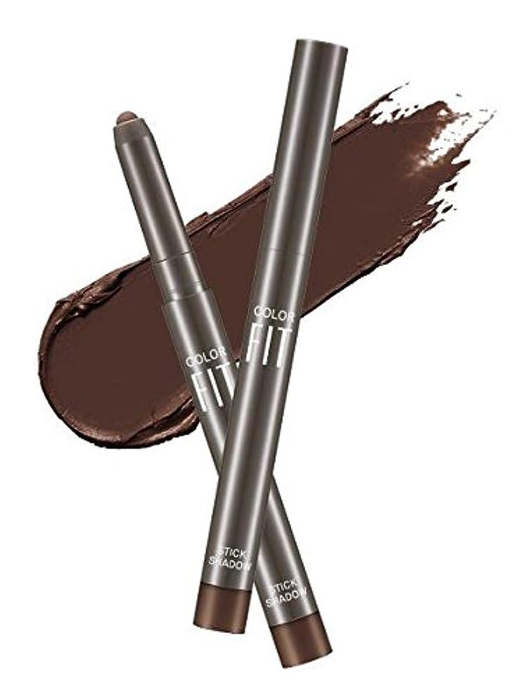 忠誠くるくるかなりの#Cacao Pound ミシャ カラーピットスティックシャドウ MISSHA Color Fit Stick Shadow [並行輸入品]