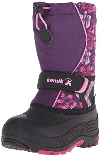 Kamik Snowbank2 Snow Boot (Toddler/Little Kid/Big Kid), Eggplant/Magenta, 8 M US Toddler