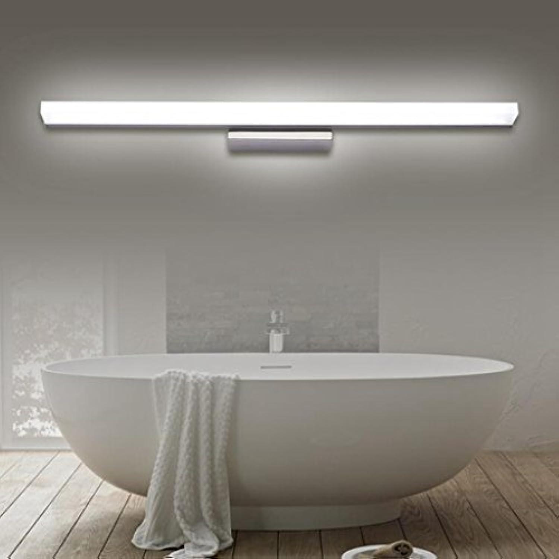 HMer Bad 8W LED Spiegelleuchte Schranklampe IP44 Wasserdichter Spiegelbeleuchtung AC90-240V Kaltwei 40CM