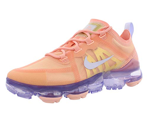 Nike Womens Air Vapormax 2019 Textile Synthetic Bleached Coral Trainers 8 US