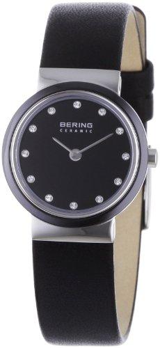 BERING Damen-Armbanduhr Analog Quarz Leder 10725-442